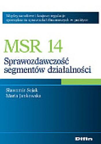 Okładka książki MSR 14. Sprawozdawczość segmentów działalności