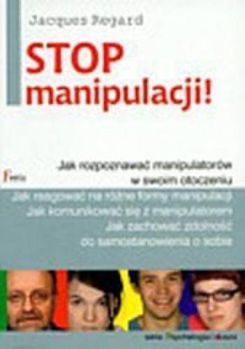 Okładka książki Stop manipulacji