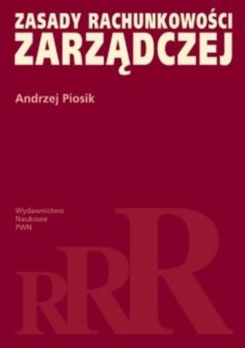 Okładka książki zasady rachunkowości zarządczej