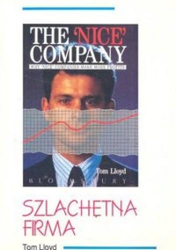 Okładka książki Szlachetna firma