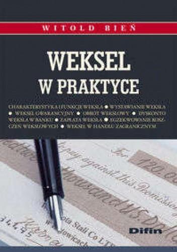 Okładka książki Weksel w praktyce