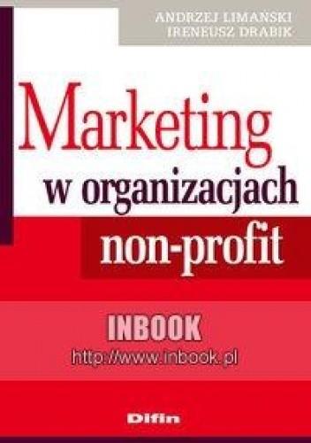 Okładka książki Marketing w organizacjach non-profit