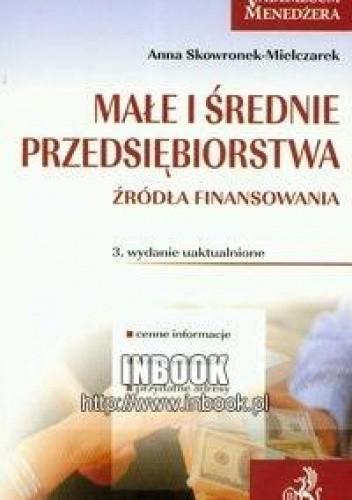 Okładka książki Małe i średnie przedsiębiorstwa