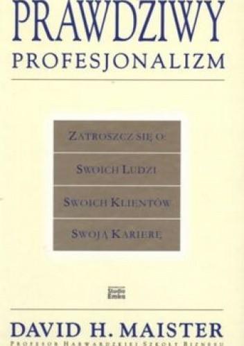Okładka książki Prawdziwy profesjonalizm