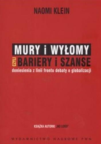Okładka książki Mury i wyłomy czyli bariery i szanse