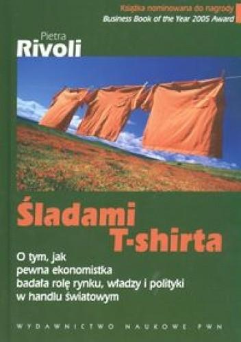 Okładka książki śladami T-Shirta