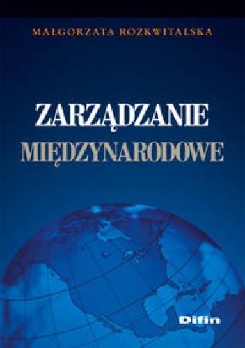 Okładka książki zarządzanie międzynarodowe