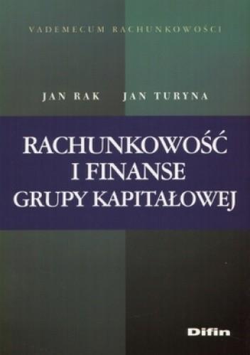 Okładka książki Rachunkowość i finanse grupy kapitałowej
