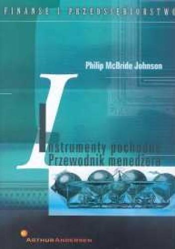 Okładka książki Instrumenty pochodne. Przewodnik menedżera