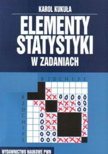 Okładka książki Elementy statystyki w zadaniach