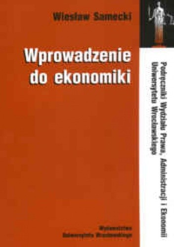 Okładka książki Wprowadzenie do ekonomiki