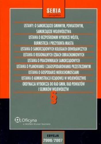 Okładka książki Ustawy o samorządzie gminnym powiatowym