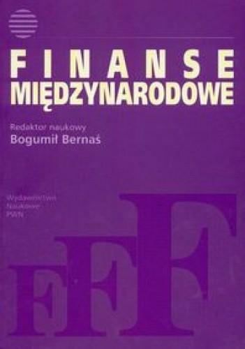 Okładka książki Finanse międzynarodowe