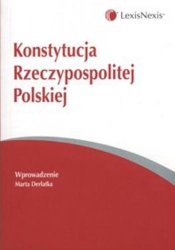 Okładka książki Konstytucja Rzeczypospolitej Polskiej