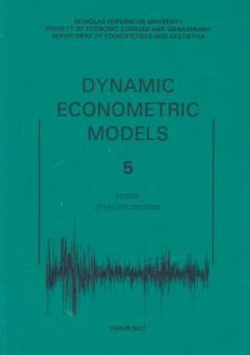 Okładka książki Dynamic tom 5 /UMK/