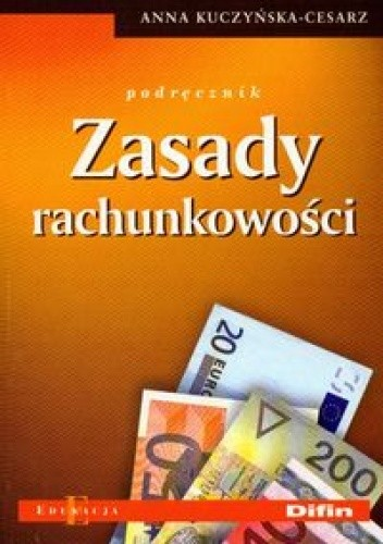 Okładka książki Zasady rachunkowości