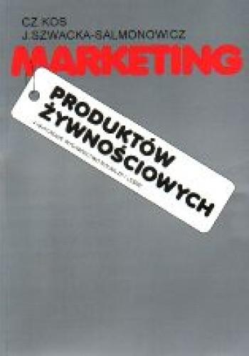 Okładka książki Marketing produktów żywnościowych