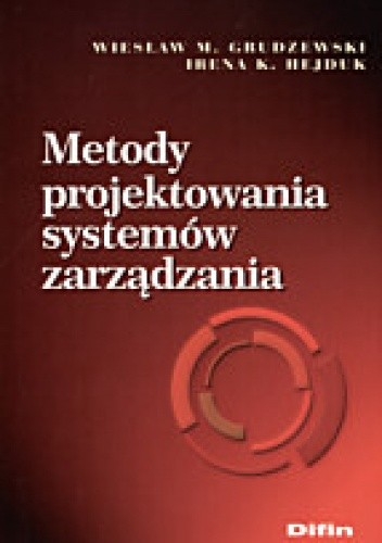 Okładka książki Metody projektowania systemów zarządzania