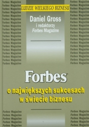 Okładka książki Forbes o największych sukcesach w świecie biznesu