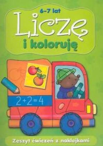 Okładka książki Liczę i koloruję 6-7 lat