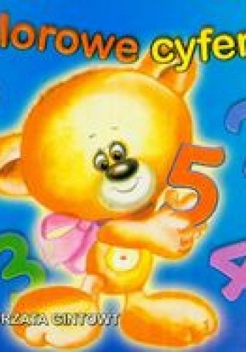Okładka książki Kolorowe cyferki /Biblioteka małego człowieka