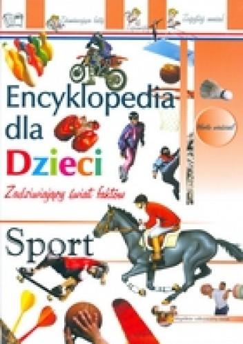Okładka książki Sport-encyklopedia dla dzieci