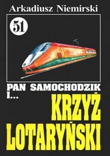 Okładka książki Pan Samochodzik i krzyż lotaryński