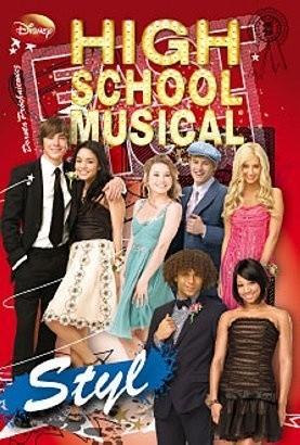 Okładka książki High School Musical. Poradnik: Styl