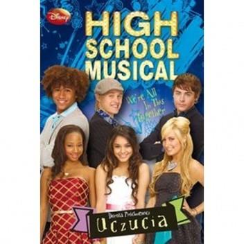 Okładka książki High School Musical. Poradnik: Uczucia