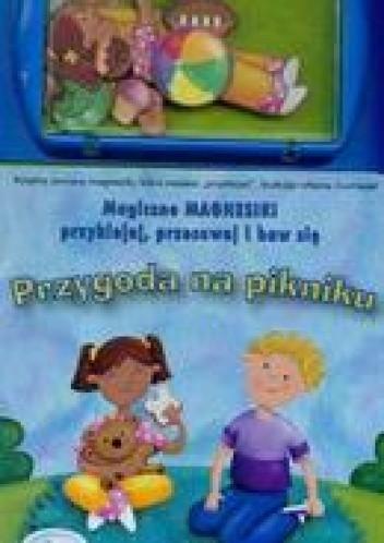 Okładka książki Magiczne magnesiki Przygoda na pikniku