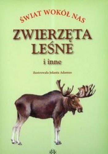 Okładka książki zwierzęta leśne i inne-świat wokół nas-t e c z k a