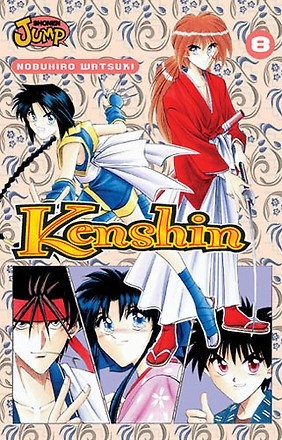 Okładka książki Kenshin, t. 8