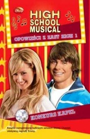 Okładka książki High School Musical. Konkurs Kapel
