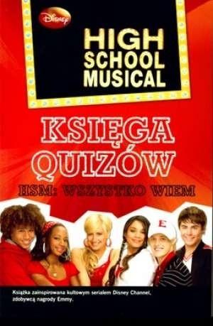 Okładka książki High School Musical. Księga quizów.
