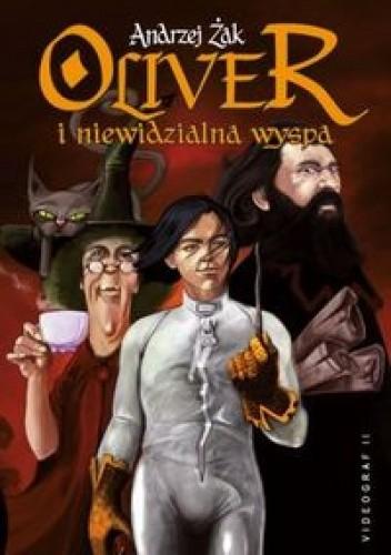 Okładka książki Oliver i  niewidzialna wyspa