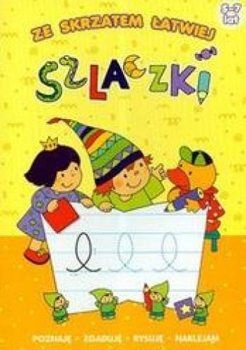 Okładka książki Szlaczki-ze skrzatem łatwiej