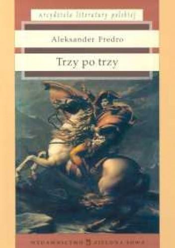 Okładka książki Trzy po trzy