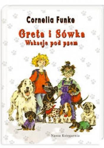 Okładka książki Greta i Sówka Wakacje pod psem