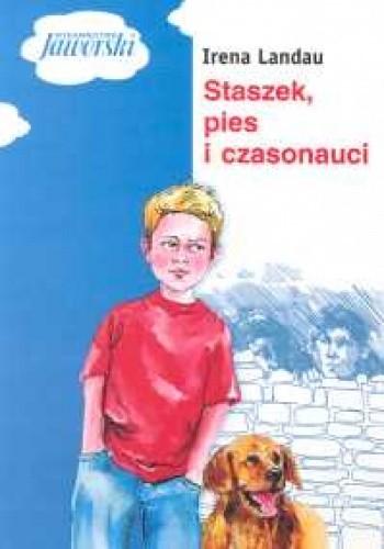 Okładka książki Staszek, pies i czasonauci