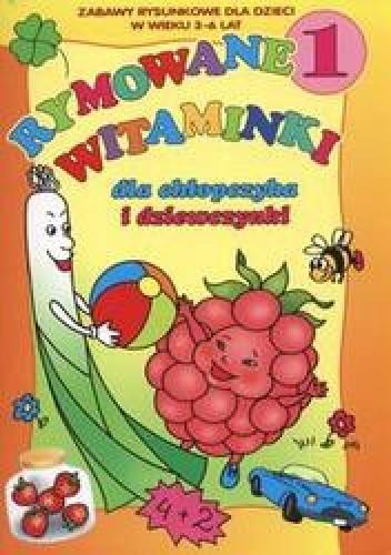 Okładka książki Rymowane witaminki dla chłopczyka i dziewczynki