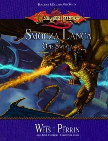 Okładka książki Dragonlance -  Smocza Lanca. Opis świata