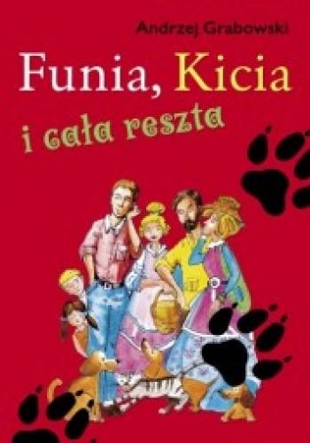Okładka książki Funia, kicia i cała reszta