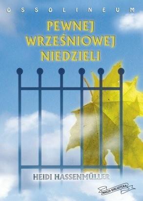 Okładka książki Pewnej wrześniowej niedzieli