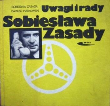 Okładka książki Uwagi i rady Sobiesława Zasady