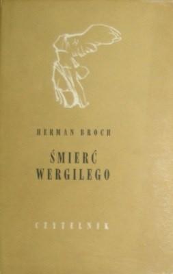 Okładka książki Śmierć Wergilego