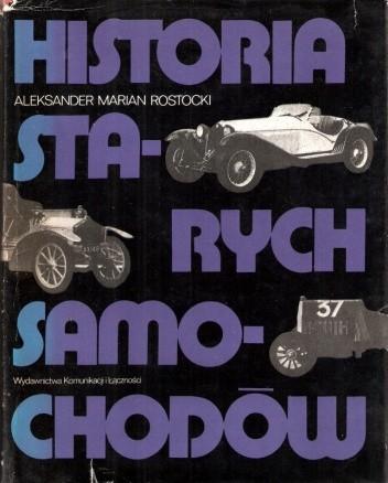 Okładka książki Historia starych samochodów
