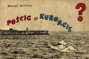 Okładka książki Pościg w Kurorcie