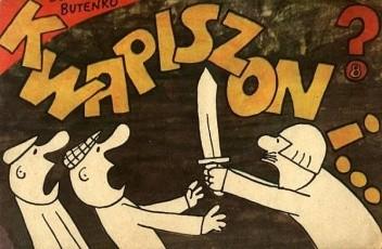 Okładka książki Kwapiszon i...