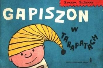 Okładka książki Gapiszon w tarapatach