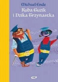 Okładka książki Kuba Guzik i Dzika Trzynastka